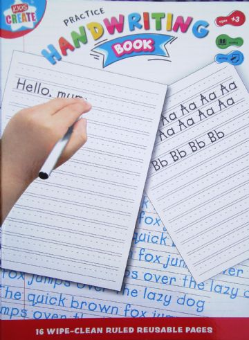 LEARN TO Educational Wipe Clean Handwriting Book